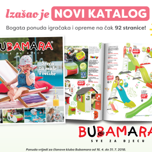 Bubamara katalog / vrijedi do 31.07.2018.