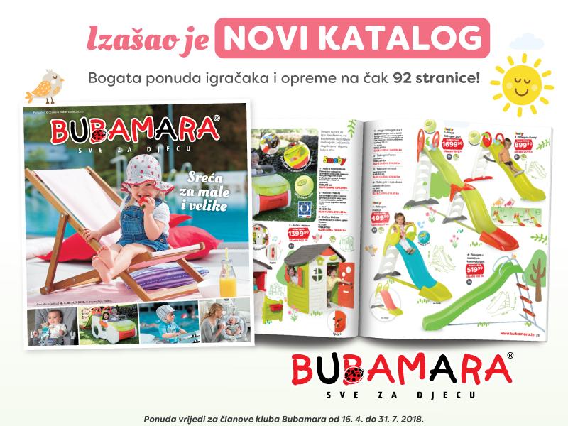 Bubamara proljetni katalog
