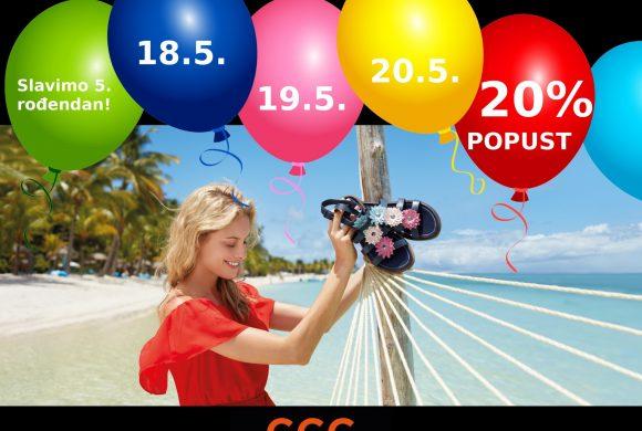 5.rođendan CCC i kolekcija ljeto