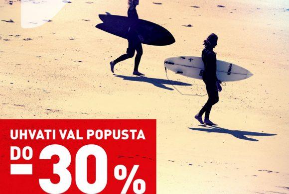 INTERSPORT POPUSTI DO 30%
