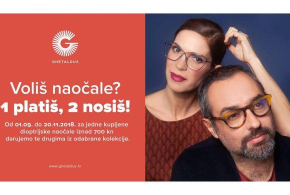 Dioptrijske naočale – 1 platiš, 2 nosiš