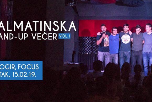 DAY & NIGHT CLUB FOCUS – DALMATINSKA STAND UP VEČER